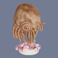 Vintage Bramble & Pinegar Mohair Wig For Doll Fancy