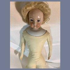 Wonderful Vintage Fancy Doll Wig W/ Bun