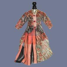Sweet Vintage Hand Made Fashion Doll Top Skirt Set Petite Gorgeous