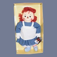 Vintage Raggedy Ann and Andy & Camel All in Original Box Set Three Dolls Limited Edition