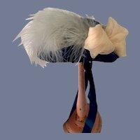 Wonderful Doll Bonnet Fashion Doll French Market