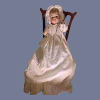 """Antique Doll Bisque Head Glass Eyes Kammer & Reinhardt Simon-Halbig 121   16.5"""""""
