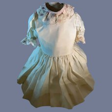 Vintage Sweet Doll Dress Lace Collar and Cuffs