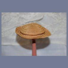 Vintage Doll Straw Hat Petite