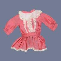 Vintage Doll Dress Petite Lace Drop Wasit