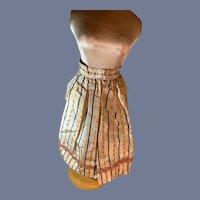 Wonderful Doll Skirt Fashion Doll Hand Made Fancy French Market