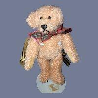 Vintage Teddy Bear Artist Mohair Johanna Haida German COA My Little Friend