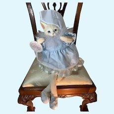 Vintage CatNip Cat Dressed  Penelope Sweet Heather Hykes