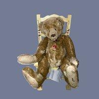 Wonderful Lori A Baker  L. Baker & Co. Teddy Bear Signed W/ Tag Adorable