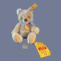 Vintage Steiff Teddy Bear Mohair Button Tag Chest Tag and Booklet