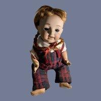 Antique Doll Morimura Bisque Head Doll Sweet Dressed