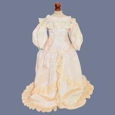 Sweet Vintage Doll Dress Lace Fashion Doll