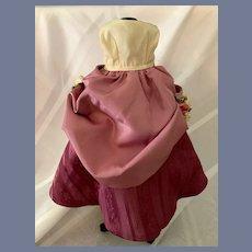 Sweet Vintage Doll Skirt Fashion Doll Petite Size