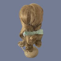 Sweet Doll Wig W/ Loose curls and a Bow