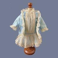 Wonderful Vintage Doll Dress & Coat W/ Tails Designed by Leslie French Market Gorgeous