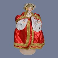 Vintage Doll Queen Of England Anne of Cleves Wife of Henry VIII