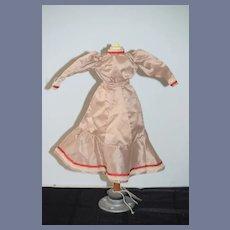 Wonderful Doll Dress High Neck Puff Sleeves Fashion Doll French Market