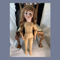 Wonderful Antique French Bisque Doll Crier and Walker Sweet DEP