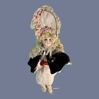 Gorgeous Antique Early Sonneberg Doll German For French Market Fashion Doll FAB Clothes
