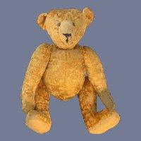 Wonderful Old Teddy Bear Jointed Sweet Unusual Large Sweet