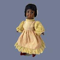 Antique Black Petite SFBJ French Doll
