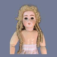 Wonderful Vintage Doll Wig Fancy Braided Bun Sausage Curls