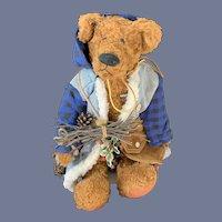 Vintage Teddy Bear Sugarloaf Mountain Kay Elmore Jointed Bears