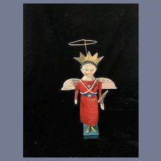 WONDERFUL Artist Doll Miss Liberty Debbee Thibault's Unusual Signed Angel