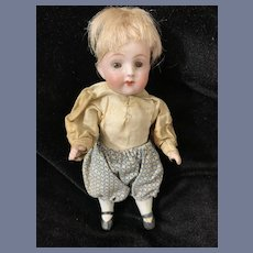 Adorable Miniature All Bisque Kestner All Bisque 257 Dressed Dollhouse