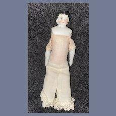 Antique Doll China Head Dollhouse Miniature Doll