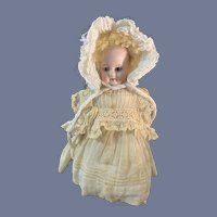 Antique Doll Solid Dome Bisque Head Fashion Doll Sweet