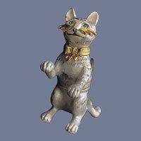 Miniature Tabby Cat Trinket