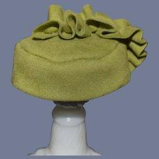 Sweet Petite Doll Hat Bonnet Fancy Ribbon