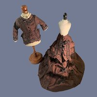 Wonderful Doll Hand Made Fashion Doll Dress Two Piece Set Wonderful