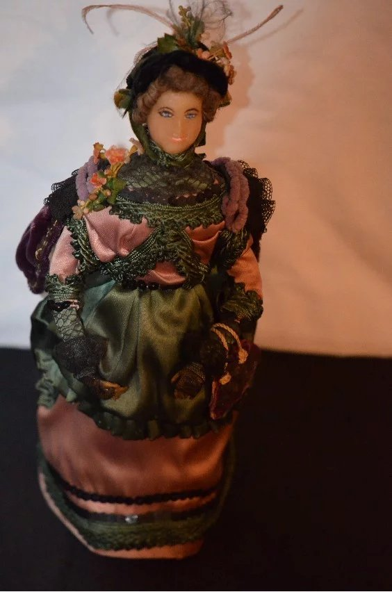 Vintage Doll Wax Fab Clothes Oldeclectics Ruby Lane