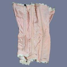 Fancy Pink Doll Corset