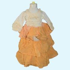 Yellow Ruffled Doll Sundress