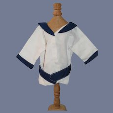 Sailor Top for a Doll