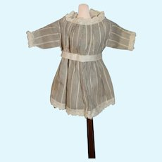 Miniature Striped Doll Dress