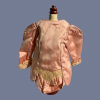 Gorgeous Pink Fabric Doll Jacket