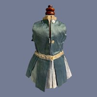 Teal Doll Dress with Matching Jacket