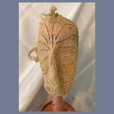 Old Fancy Doll Bonnet Charming