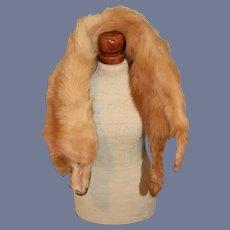 Fox Scarf for Doll Fur Stole