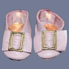 Purple Miniature Shoes Artist Doll Shoes Petite Doll
