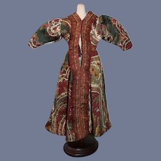 Colorful Paisley Patterned Doll Dress