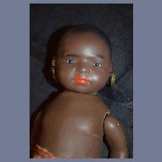 Antique Black Bisque Doll Island Jointed Heubach Koppelsdorf 399 German