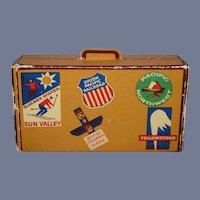 Vintage Miniature Doll Traveling Case Matchbook Holder