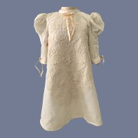 Long Sleeve Embroidered Doll Dress