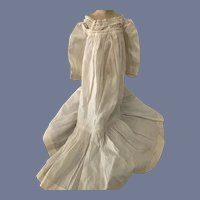 Long White Baby Doll Dress