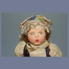 Swiss Girl Cloth Doll